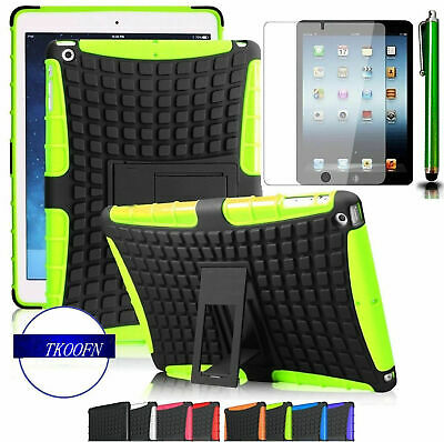 New! Survivor Shockproof Tough Kids Protective Case Cover for Ipad & mini 2 3 4