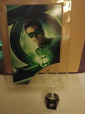 DC Universe Comics Green Lantern Movie Replica Prop Power Ring Lights Up READ