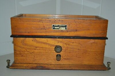 Antique Henry Troemner Class B 2 oz Apothecary Pharmacist Scale