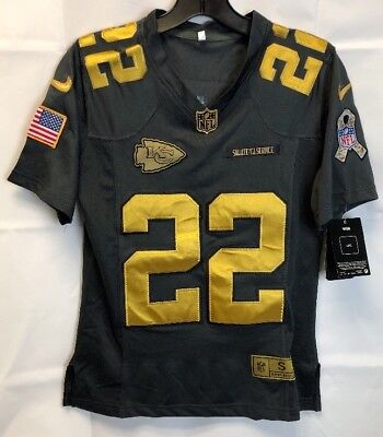 NEW Nike Kansas City Chiefs Salute to Service Jersey Marcus Peters 22 Small cb744e222