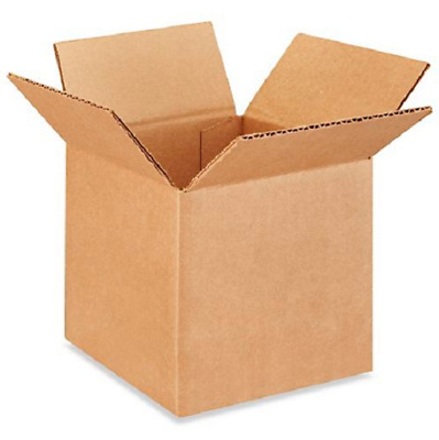50 6x6x6 Cardboard Paper Boxes Mailing Packing Shipping Box Corrugated Carton