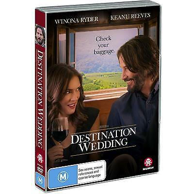 Destination Wedding (DVD, 2019) (Region 4) New Release