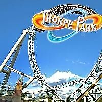 Back in March, Discounted entry for Thorpe park