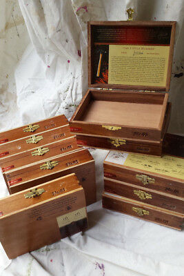 Padron Family Reserve No. 85 Maduro Collectable Wooden Cigar Empty Boxes LOT 10