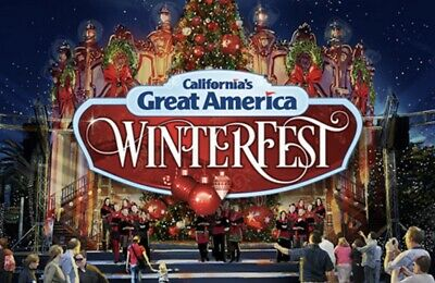 California's Great America Winterfest Tickets Promo Discount Save + Meal + Park