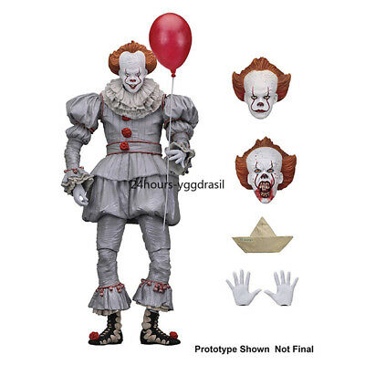 """Pennywise IT Action Figure Ultimate Pennywise the Clown NECA 7"""" Action Figures"""