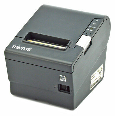Micros Epson M244A TM-T88V Thermal POS Receipt Printer IDN with Power and IDN