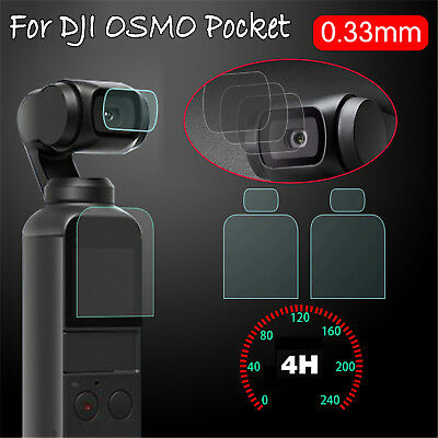 For DJI OSMO Pocket Sunnylife Tempered Glass Lens & Screen Film Protector Parts