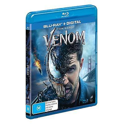 Venom (Blu-ray, 2019) (Region B) New Release