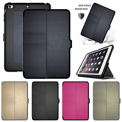 """For iPad 9.7"""" 6th 2018 Case 2017 Smart Luxury Leather Magnetic Flip Stand Cover"""