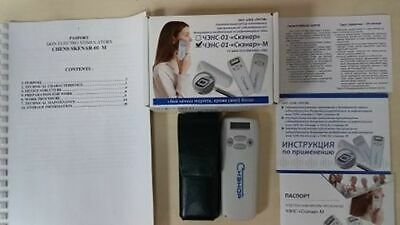 RITM SCENAR 01 M SPORT D LCD Portable Electroneurostimulator with English manual