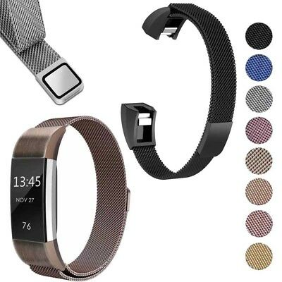 Fitbit Alta/Alta HR Milanese Magnetic Strap Stainless Steel Wrist Watch Band