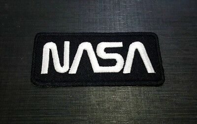 Embroidered Sew Iron Patch LOGO EMBLEM UFO NASA SPACE PROGRAM Astronauts VECTOR