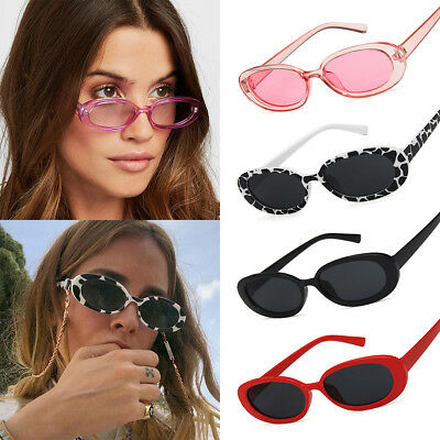 Fashion Women Oval Frame Sunglasses Small Glasses Ladies Retro Sun Glasses New