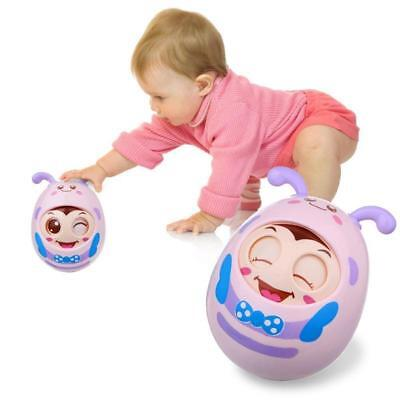 Baby Stroller Bed Hanging Bells Toys Soft Plush Doll Teether Cute Animal C1MY