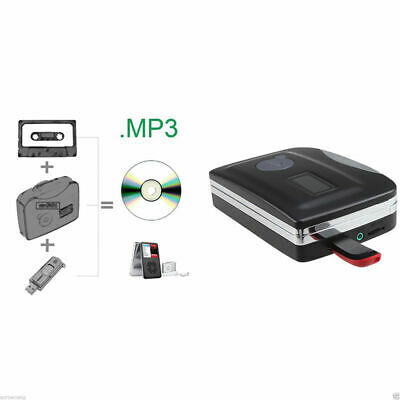 Tape To PC USB Cassette MP3 CD Converter Capture Digital Audio Music Player AS