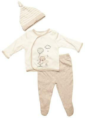Baby Trousers Jacket Coat Hat Outfit Fox Balloon 3 Piece Newborn to 6 Months