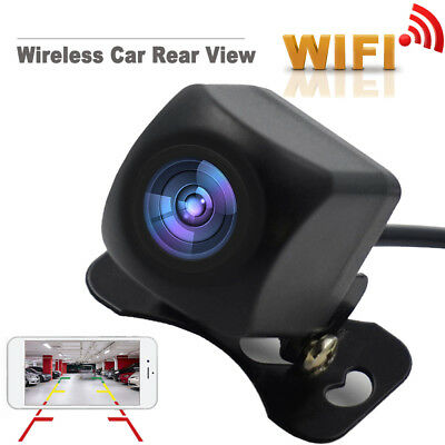 150° Rear View Camera Car WiFi Wireless HD Backup For phone Night Vision J2G9F