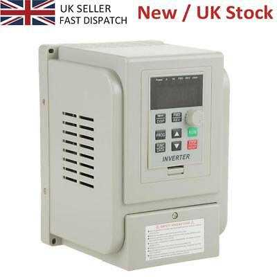 AC 220V 1.5KW VFD Variable Frequency Drive Inverter Speed Controller Converter