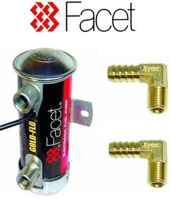 Facet Blue Top Works Cylindrical Fuel Pump 480534E 10mm tails