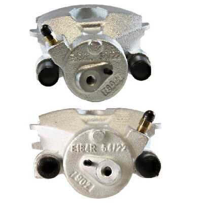 New Pair Front Left & Right Premium Brake Caliper Set fits VW Beetle Golf Jetta