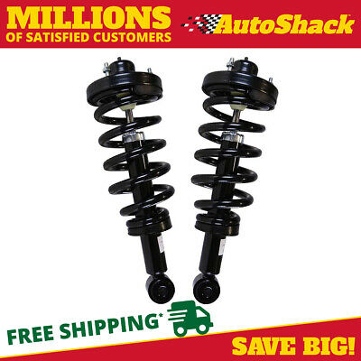 Rear Pair (2) Complete Struts Assembly w/coil springs Fits 10-16 Ford Expedition