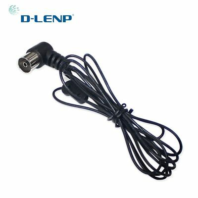 FM Dipole Antenna 75 Ohm PAL Connector Radio Stereo for Home Theater Receiver