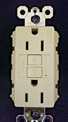 Legrand Pass Seymour 1597TRWRI Tamper Weather Resist GFCI IVORY FREE SHIP
