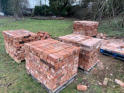 Rustic Reclaimed Bricks 7000 (2000 ready for collection further 5000 ready soon)