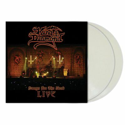 King Diamond - Songs For The Dead Live (2LP CLEAR WHITE Vinyl Limited Edt.)