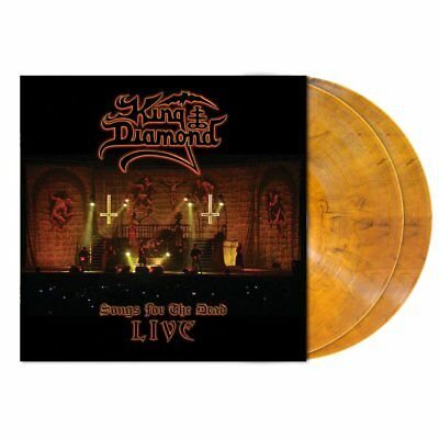 King Diamond - Songs For The Dead Live (2LP AMBER MARBLE Limited Edition)
