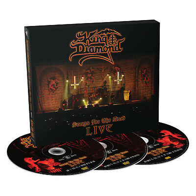 King Diamond - Songs For The Dead Live (CD+2DVD Digipak Limited Edition)