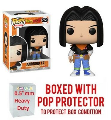 Funko Pop Dragon Ball Z Wave 5 - ANDROID 17 #529 Vinyl w/ Case -IN STOCK-
