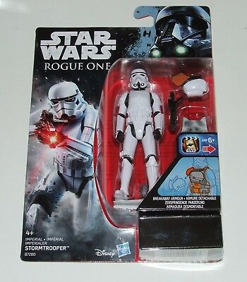 "RARE STAR WARS ROGUE ONE - STORMTROOPER - 3.75"" Action Figure (Hasbro) MINT !"