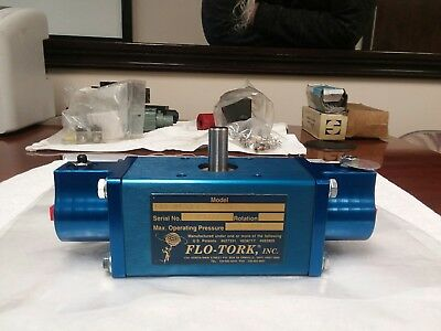 FLO-TORK Rotary Actuator A100-184-ET-MS13-RKS-N (NEW) unused,missing box.