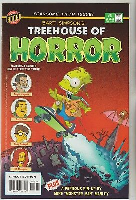 Treehouse Of Horror Annuals Various 1999 To 2008 Vf $9.95 Each