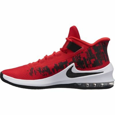 best service 0df7a f14d4 ... usa nike air max infuriate 2 mid mens red black aa7066 600 athletic basketball  shoes d7e58