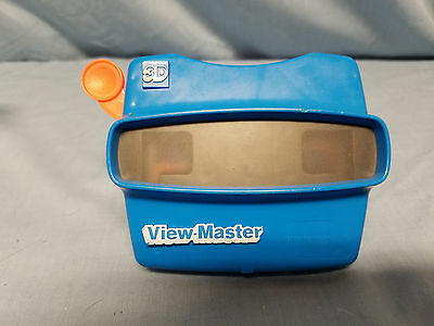 Vintage Blue ViewMaster Stereoscopic 3D Viewer View-Master International Group