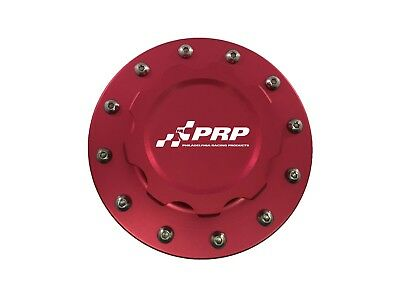 PRP 7616 Fuel Cell Cap Assembly w/ 12 Bolt Bung, Red Finish