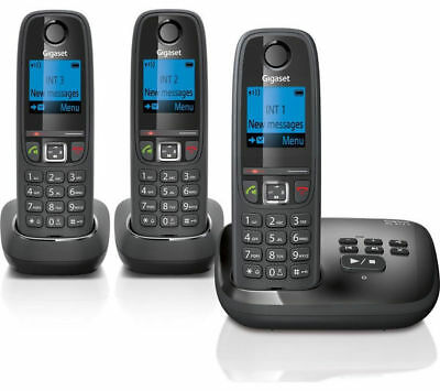 GIGASET AL415A Cordless Phone with Answering Machine - Triple Handsets
