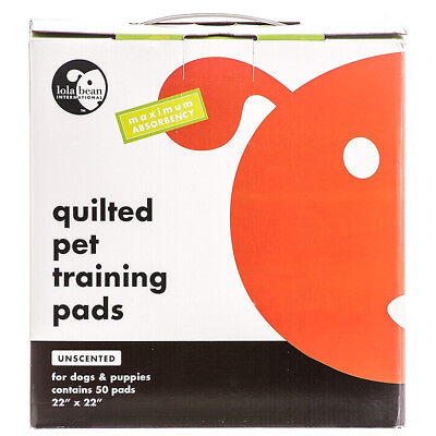 Lola Bean Quilted Pet Training Pads - Unscented