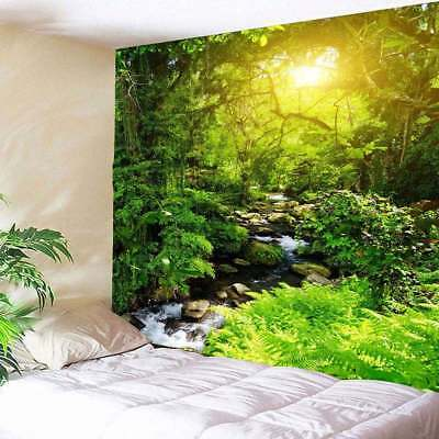 Landscape Forest Tapestry Home Wall Hanging Art TRee Print Tapestry Wall Decor