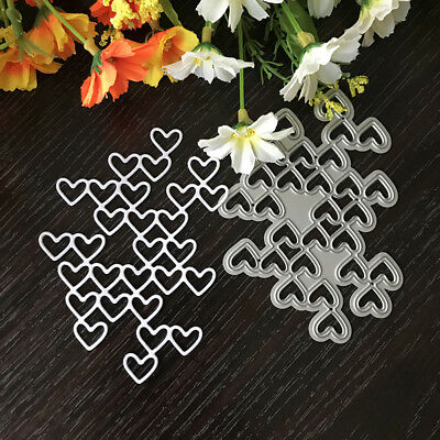 Love string Design Metal Cutting Die For DIY Scrapbooking Album Paper Card P^