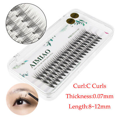 Professional 20D C Curl Pre made Russian Volume Fan Lashes Eyelash Extensions