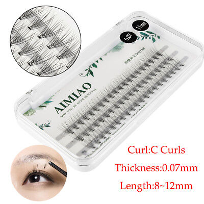 0.07mm Thickness 10D C Curl Premade Russian Volume Fan Lashes Eyelash Extensions