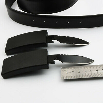 Outdoor Leather-Belt Tactical knife Outdoor Survival Urgency Saber Men's Gift
