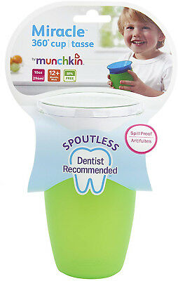 RANDOM COLOUR Munchkin Miracle 360 Degree Sippy Toddler Cup No Spout
