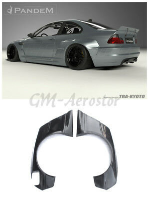 Fiber Glass Coupe PD Style Rear Fender Flares For 98-05 BMW E46 3 Series&M3