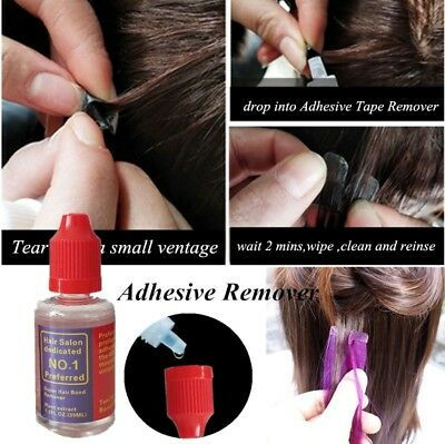 Hair Extension Remover 30ml Wigs Glue Adhesive Remover for Lace Wig Release Tape