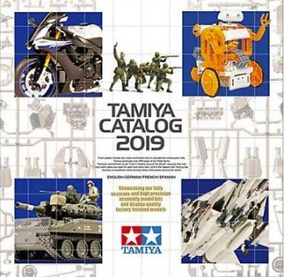 Tamiya 64419 Catalog 2019 English/German/French/Spanish Annual Magzine Book